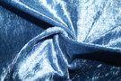 Velours de Panne - NB 5666-003 Velours de panne jeansblauw