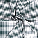 Mondkapjes paneel - NB 5635-028 Boerenbont ruit donkergroen 1 cm