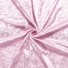 Verkleedkleding - NB 5666-011 Velours de panne lichtroze