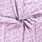 Hart motief - NB20/21 Dapper 15531-012 Katoen maritiem hart/bloem roze