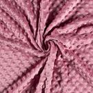 Plaid - NB 3347-013 Fur Niply donkerroze (minky stof)