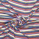 Gebreide stof - Ptx21 316012-61 Fijn gebreid paars/rood/zwart/blauw