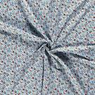 Hobbystof - Dapper21 15807-003 Katoen bedrukt skulls lichtblauw