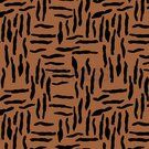By Poppy - ByPoppy21 8437-011 Oil skin zebra abstract roest