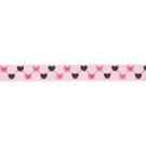 Band - Ripslint hartje lichtroze 16mm 22384-749