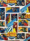 Katoen Tricot - JO 5717-603 katoen DC justice league multi