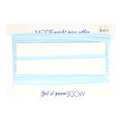 Band - Paspelband rekbaar lichtblauw (5005-258)*