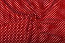 Boerenbont stoffen - NB 1264-015 Katoen kleine hartjes rood