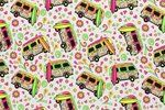 NB19/20 13627-050 Tricot neon peace bus wit