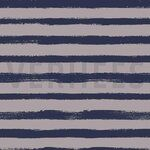 VH19/20 6534-001 French Terry groovy stripes grijs