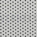 ByPoppy20 4955-101 Katoen little stars wit/zwart