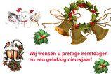 Wij wensen u prettige kerstdagen en een gelukkig nieuwjaar!