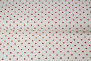 Stenzo19 13630-0211 Tricot dots wit/rood