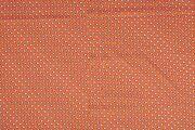 NB 11079-036 Katoen/Poplin voet-balletjes oranje