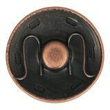 Manteldrukker 30 mm brons 2000-30