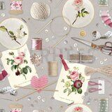 ByPoppy19/20 7401-003 Canvas Craft Together grijs