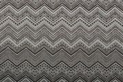 NB 1370-068 Interieur en decoratiestof fantasie zigzag grijs