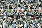 Stenzo20 15755-10 Tricot digitaal camouflage/patches groen/multi