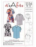 It's a fits 1116 oversized blouses