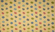 OR5501-083 French Terry organic dots zachtgeel
