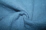 KC 8293-003 Bambino embroidery dusty blue