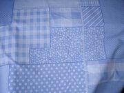 NB 5634-002 Katoen patchwork lichtblauw
