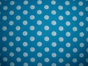 NB 5576-004 Balletjes katoen turquoise