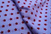 NB 5571-050 Katoen ster wit/rood