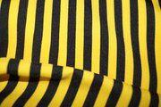 Texture gestreept smal geel/zwart