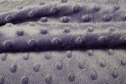 KN 0617-820 Fur Niply lila (minky stof)