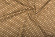 NB 1264-053 Katoen kleine hartjes beige