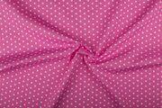NB 1266-011 Katoen kleine sterretjes roze