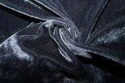 NB 3348-068 Fluweel rekbaar donkergrijs