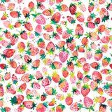 ByPoppy19 5761-001 Tricot digitaal sweet strawberry wit/multi
