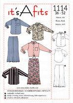 It's a fits 1114 blouse en rok - It's a fits 1114 blouse en rok
