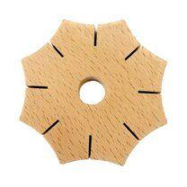 Knoop-ster van hout (99545)op=op - Knoop-ster van hout (99545)op=op