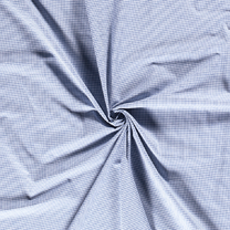 NB 5581-006 Boerenbont mini ruitje blauw 0.2 cm - NB 5581-006 Boerenbont mini ruitje blauw 0.2 cm