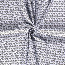 NB20/21 Dapper 15570-003 Katoen zebra babyblauw - NB20/21 Dapper 15570-003 Katoen zebra babyblauw