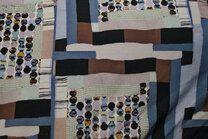 Ptx20/21 924541-33 Tricot fantasieprint bruin/blauw - Ptx20/21 924541-33 Tricot fantasieprint bruin/blauw