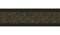 -Lurexband zwart/goud 30mm (XSS14-375) - Lurexband zwart/goud 30mm (XSS14-375)