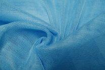 Vi06 Vitrage grof blauw 2.80 hoog met loodveter - Vi06 Vitrage grof blauw 2.80 hoog met loodveter