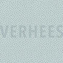 ByPoppy21 8321-012 Linnen look dots mint - ByPoppy21 8321-012 Linnen look dots mint