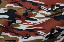 Ptx21 310131-81 Katoen camouflage steenrood/zwart/bruin/ecru - Ptx21 310131-81 Katoen camouflage steenrood/zwart/bruin/ecru