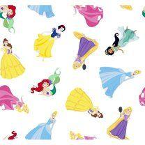 Ptx21 669111-20 Katoen Disney princess wit/multi - Ptx21 669111-20 Katoen Disney princess wit/multi