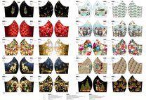 Stenzo 16143 Paneel mondkapjes kerst NU voor - Stenzo 16143 Paneel mondkapjes kerst NU voor