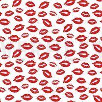 ByPoppy21 8555-003 Poplin kisses wit - ByPoppy21 8555-003 Poplin kisses wit