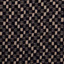 KN21 17850-600 Mantelstof Abelia donkerblauw - KN21 17850-600 Mantelstof Abelia donkerblauw
