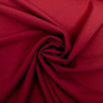 KN 0692-425 Tricot light scuba crepe rood - KN 0692-425 Tricot light scuba crepe rood