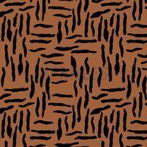 ByPoppy21 8437-011 Oil skin Zebra abstract rost - ByPoppy21 8437-011 Oil skin Zebra abstract rost
