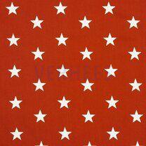 ByPoppy21 4954-030 Katoen stars terra - ByPoppy21 4954-030 Katoen stars terra